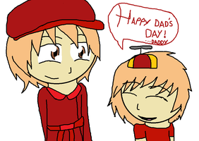 HTF-Happy daddy's day pop and cub by QUEENLISA32