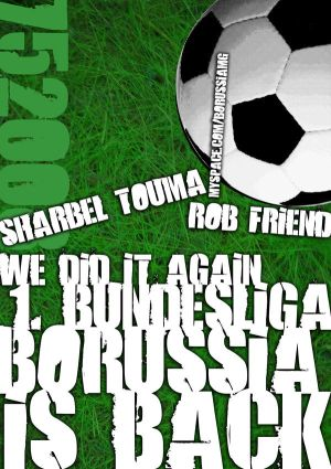 Artwork: borussia is back