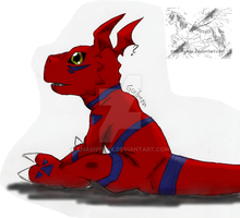 Guilmon by xMashykax