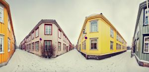 Just another day in Trondheim by Kvikken