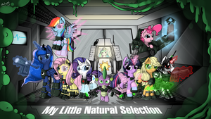 My Little Natural Selection by malamol