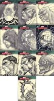 Marvel Masterpieces III Set 11 by jeffwamester