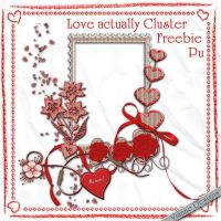Love actually Cluster by VianneScraps