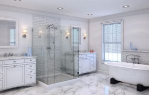 Bathroom rendering by zodevdesign
