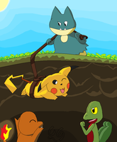 Mystery Dungeon - rescue by charlot-sweetie