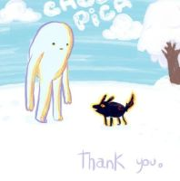 Thank you. by CHOCOPICA