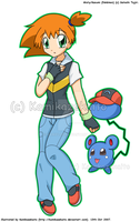 Misty Dress Up: Ash 03 by Kamiflor