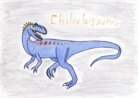 Chilantaisaurus by Pyroraptor42