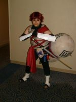 Anime Boston '08-ANBU Gaara by areazel