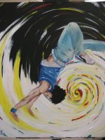 Breakdance Painting by Sweater