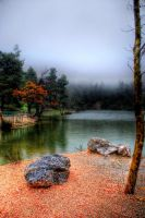 Beletsi Lake Parnitha HDR by Piddling