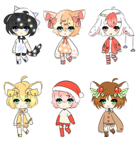 5-10 December Adopts! [OPEN] by Sammy-Shota-Prince