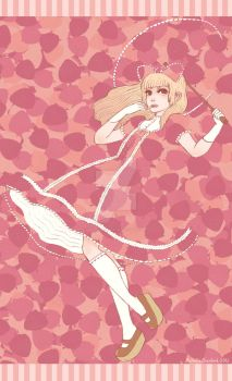 Strawberry Dreams Lolita by silentillusion