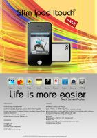 Itouch electronic print work by injured-eye