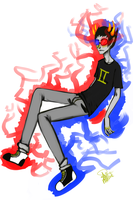 Sollux by ApplebeeJuice
