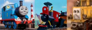 Thomas, Casey Jr, and Ernest by 736berkshire