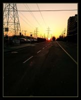 Sunday Sunrise at Finch Station by CCHOY