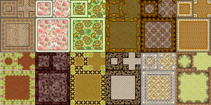 RPG Maker VX - Carpets Autotiles by Ayene-chan