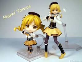 Mami Tomoe - Nendoroid and Figma Ver. by Kuro-Kinny