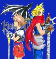 Sora n Cloud - To DarkFeruil by Kurara-Shikaze