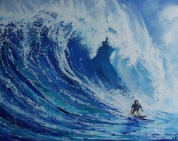 Ride the Wave by alhopwood