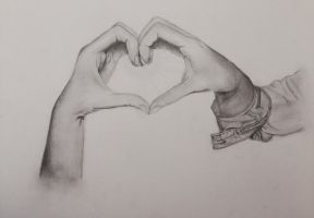Heart in your hands by LoveFromJasmine