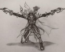 Diablo 3 Demon Hunter by sunnyrays