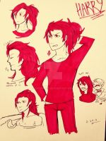 Harry Sketchdump by SixSpaces