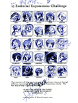 kimi-25 Expression challenge by pikminAAA