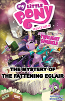 The Mystery of the Fattening Eclair Alt. Cover by elnachato