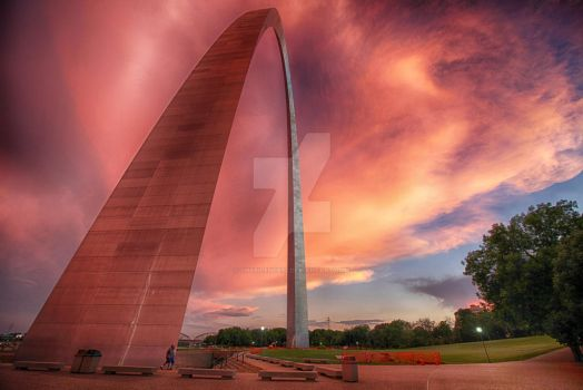 The Gateaway Arch, St. Louis, MO by thesilence77