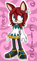 Princess Elise the Deer .:AU Design:. by VeggieMadness
