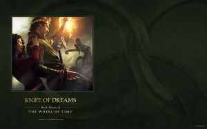 Knife of Dreams ebook cover art wallpaper by ArcangHell