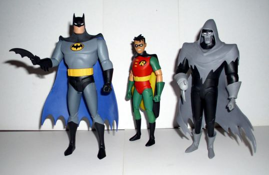 Batman Animated Figures - Mask of the Phantasm by CyberDrone2-0