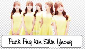 Pack Png Kim Shin Yeong By Hami # by alwaysmile19