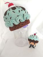 mint chip ice cream hat by MasterPlanner