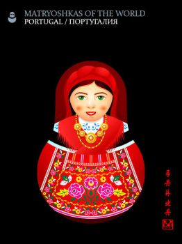 Matryoshka: Portugal by sahua