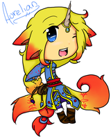 Aurelian Chibi by iGirgy