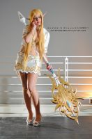 Light Elf Masjestic Robe Lineage II by ChiaraTrancy