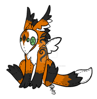 Winged Plushie Kurion Adoptable ~CLOSED! by TechnicallyTomorrow