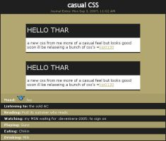 FREE Casual CSS by Kip0130