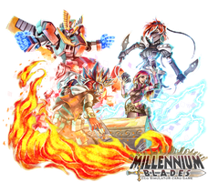 Millennium Blades - Deques Applenti VS Shur Win Na by FontesMakua