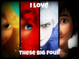 I love the Big Four by SweetImagination13