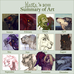 Summary of art 2011 by LiLaiRa