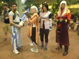 Otakon 2013 - Botta, Raine, Sheena and Duke by mugiwaraJM