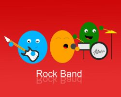 Rock Band by igelkotten