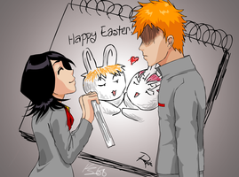 Happy Easter, Ichigo by Deus-Nocte