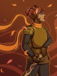 Autumn the Burnished Knight by Dreamer-T