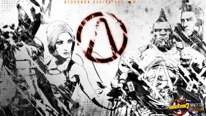 Borderlands 2: Written in History Wallpaper 1 by acdramon