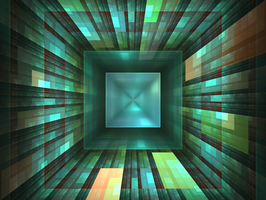Hypercube by Raykoid666